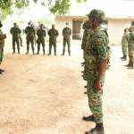 GDF troops being deployed to enforce COVID-19 measures across the country
