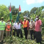 Areas demarcated for Guyana/Suriname Corentyne Bridge