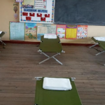 Govt. sets up shelter for Success squatters at Graham's Hall School