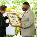 President calls for unified Guyana as commemorative Janet Jagan stamps are unveiled