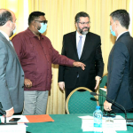 Guyana and Brazil to resume discussions on road project and energy cooperation