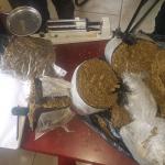 Crane couple nabbed with over 9lbs marijuana in barrel