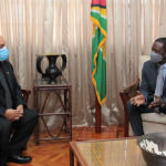 "Foreign Minister expresses Guyana's ""strong objection"" to Venezuelan envoy on latest decree"