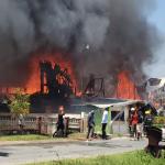 24 left homeless after Castello Fire