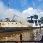 Engine room fire grounds MV Barima in Port Kaituma