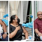 President, First Lady and Vice President receive COVID vaccines