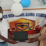 Mackenzie High receives gift of laptops from North American Alumni Chapter