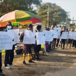 Uitvlugt sugar workers begin protests against GUYSUCO