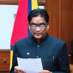 Charrandass Persaud accredited as Guyana's High Commissioner in India