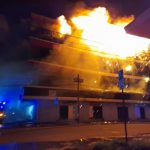Sharon's Mall Building completely gutted by fire; Hundreds of millions in losses