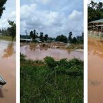 Heavy rainfall leads to flooding in Aranka