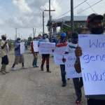 Uitvlugt sugar workers restart protests for better salaries and wages