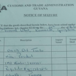 GRA seizes loaded oil tanker in the centre of Guyoil fuel purchase scandal; GEA launches own probe