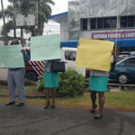 GPL workers protest for full settlement of salary increase negotiations