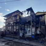 Venezuelan migrants among tenants left homeless after early morning blaze