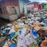 Bourda market vendors abandon stalls over garbage pile up; Nearby businesses being blamed