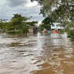 Floodwaters rising again in Region 7