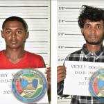 Two Berbice youths nabbed with marijuana packed backpacks