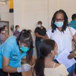 Almost 3500 children receive first shot of Pfizer vaccine