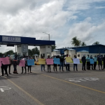 Berbice Bridge workers picket over lack of new protective equipment